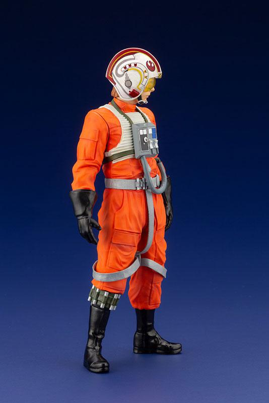 ARTFX+ Star Wars Luke Skywalker X-WING Pilot 1/10 Easy Assembly Kit 12