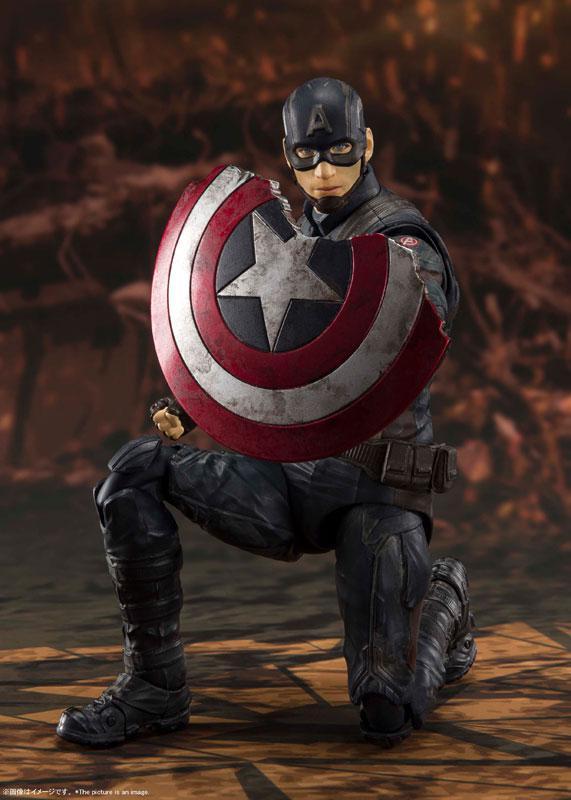 S.H.Figuarts Captain America -[FINAL BATTLE] EDITION- (Avengers: Endgame)