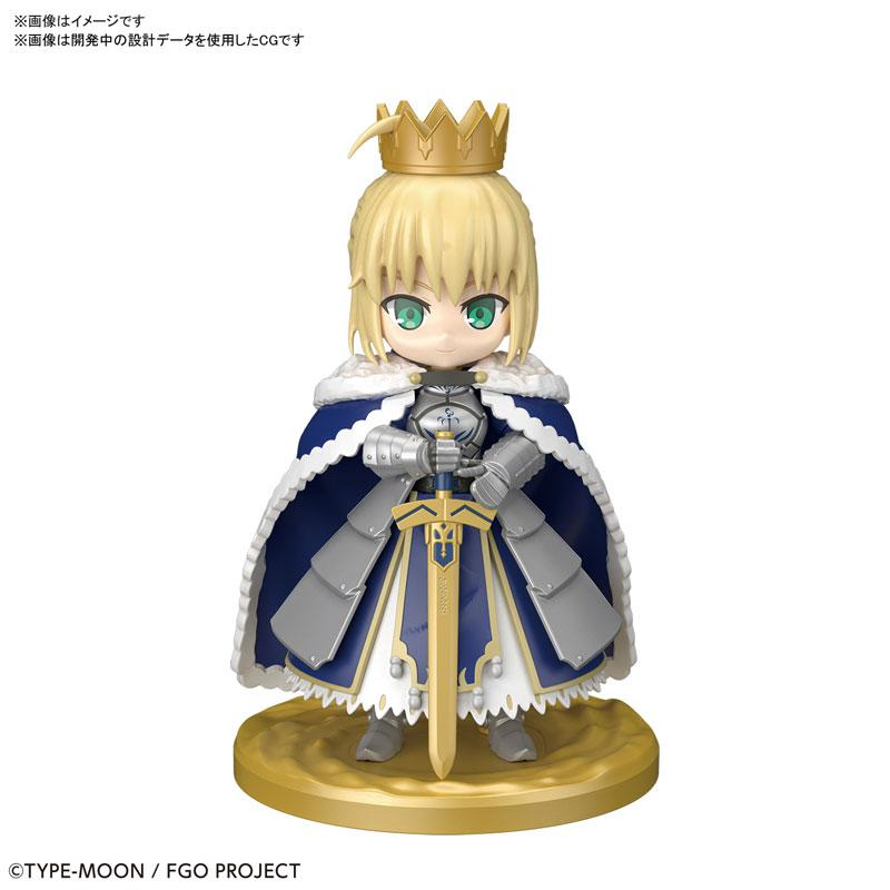 "Puchirittsu Saber/Altria Pendragon Plastic Model ""Fate/Grand Order"" product"