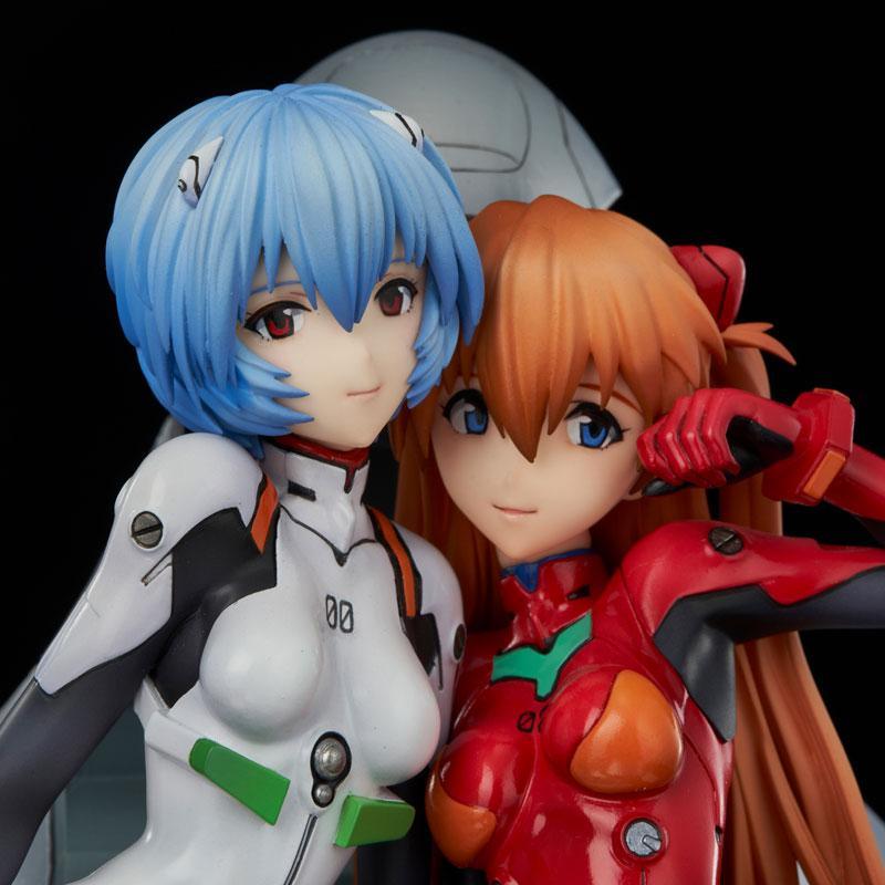 Neon Genesis Evangelion Rei & Asuka - twinmore Object - Complete Figures