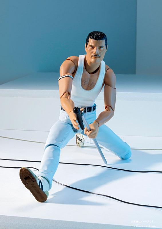 S.H.Figuarts Freddie Mercury LIVE AID Ver. 3