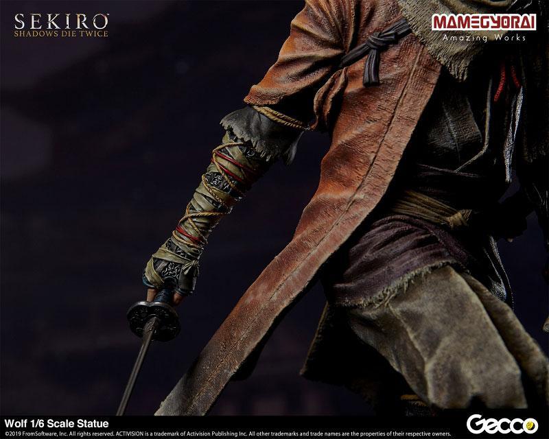 [Bonus] SEKIRO: SHADOWS DIE TWICE/ Wolf 1/6 Scale Statue 27