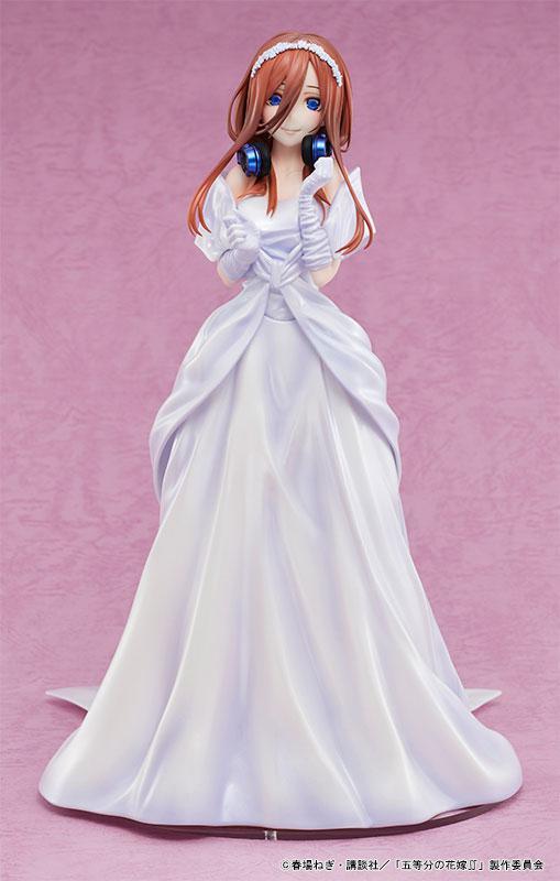 The Quintessential Quintuplets 2 Miku Nakano Wedding Ver. 1/7 Complete Figure