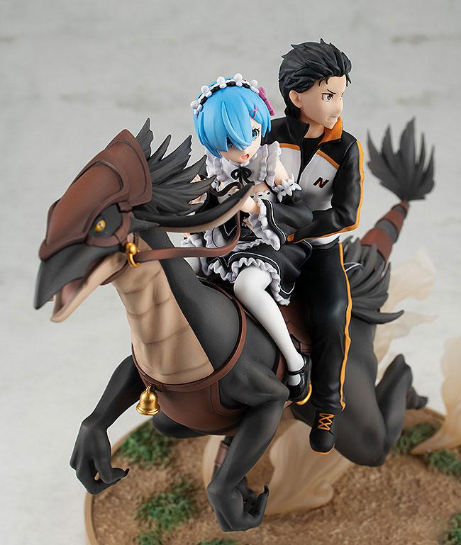 KDcolle Re:ZERO -Starting Life in Another World- Rem & Subaru: Attack on the White Whale Ver. Complete Figure 4