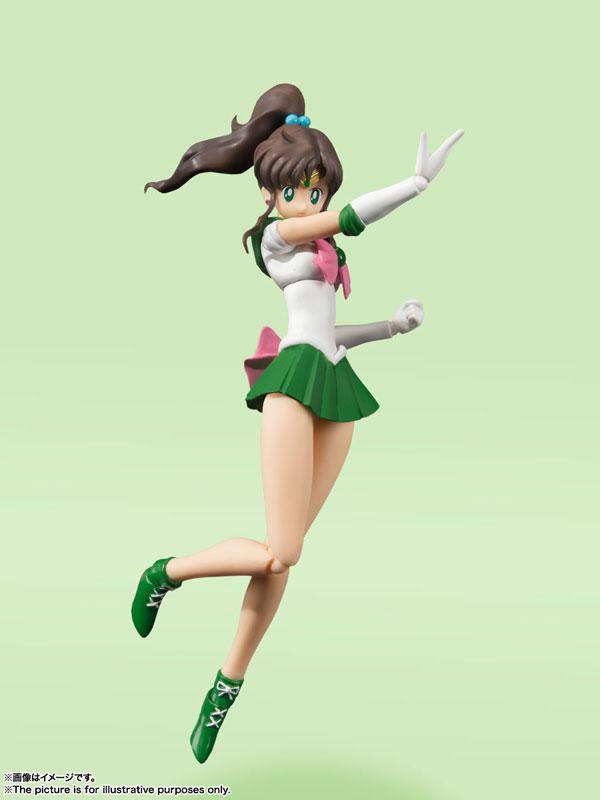 "S.H.Figuarts Sailor Jupiter -Animation Color Edition- ""Sailor Moon"""