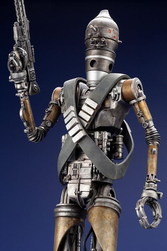 ARTFX+ Star Wars: The Mandalorian (Original Title) IG-11 1/10 Easy Assembly Kit 12