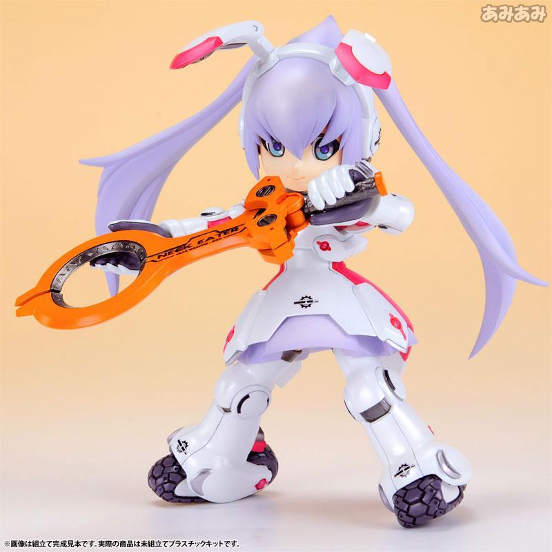 Ichigeki Sacchu!! HoiHoi-san LEGACY 1/1 DG-001LN Usagear Plastic Model 9