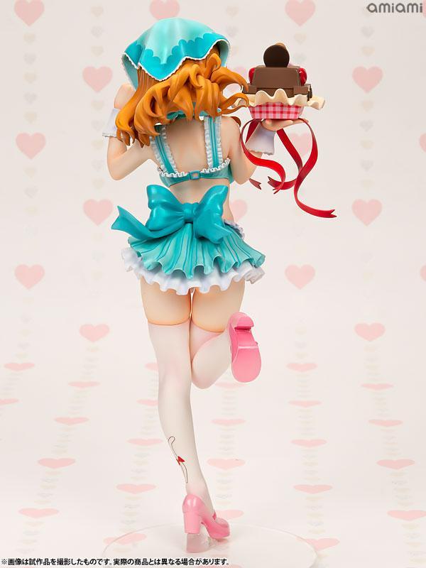 DreamTech Girls und Panzer Saori Takebe [Valentine Apron] 1/7 Complete Figure