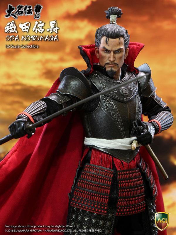 1/6 Collectible Figure Hiroyuki Suwahara Daimyouden Series - Nobunaga Oda Deluxe Ver.