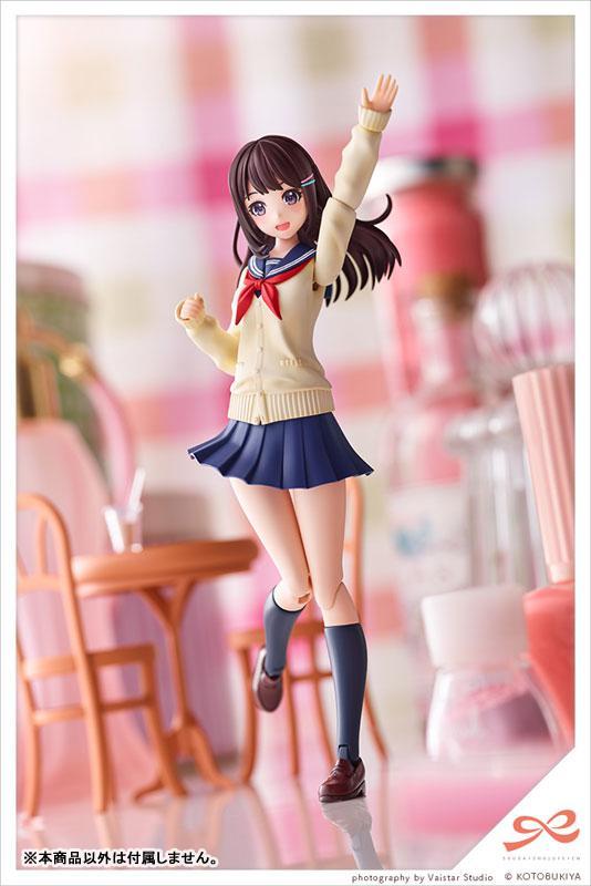 Sousai Shoujo Teien Yuuki Madoka [Touou High School, Winter Uniform] Plastic Model