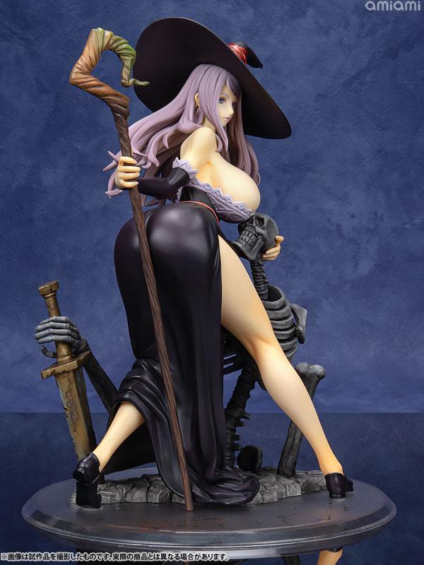 Dragon's Crown Sorceress Darkness Crow ver. 1/7 Complete Figure 6