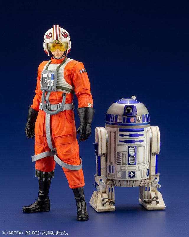 ARTFX+ Star Wars Luke Skywalker X-WING Pilot 1/10 Easy Assembly Kit 13
