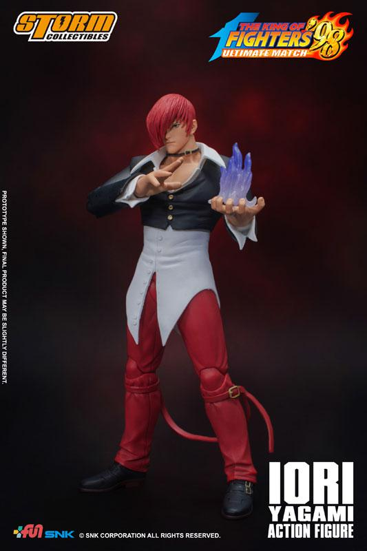 The King of Fighters '98 Ultimate Match Action Figure Iori Yagami