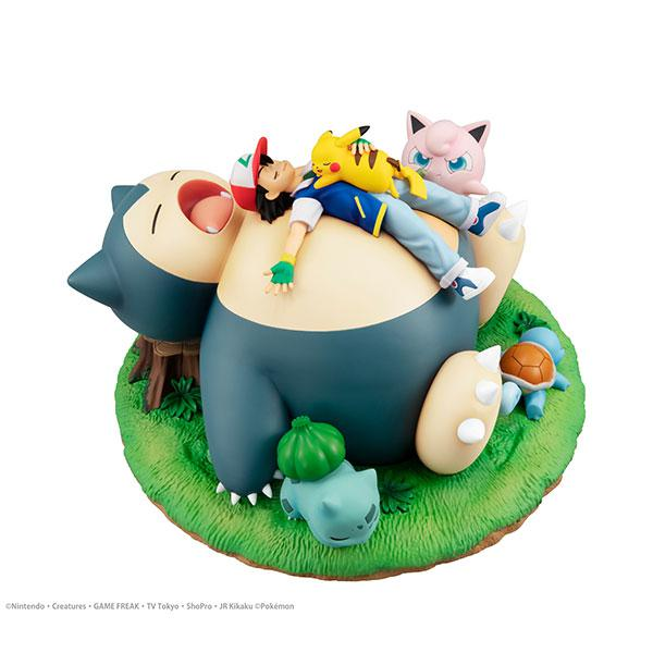 G.E.M. Series Pokemon Nap with Snorlax Complete Figure product