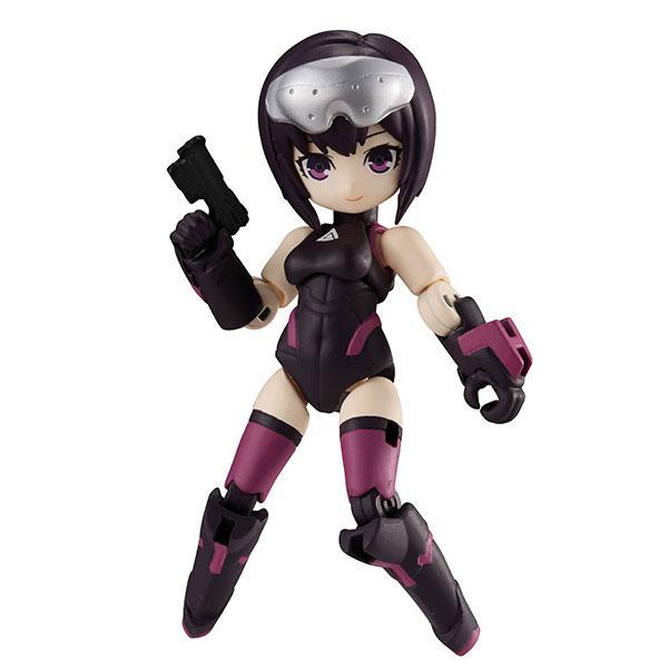 Desktop Army Ghost in the Shell: SAC_2045 Motoko Kusanagi & Tachikoma Posable Figure