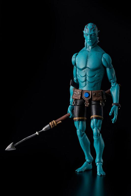 Hellboy Abe Sapien 1/12 Action Figure 1
