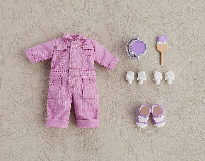 Nendoroid Doll Outfit Set (Colorful Coverall: Purple) main