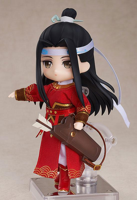 "Nendoroid Doll Anime ""The Master of Diabolism"" Lan Wangji Qishan Night-Hunt Ver. product"