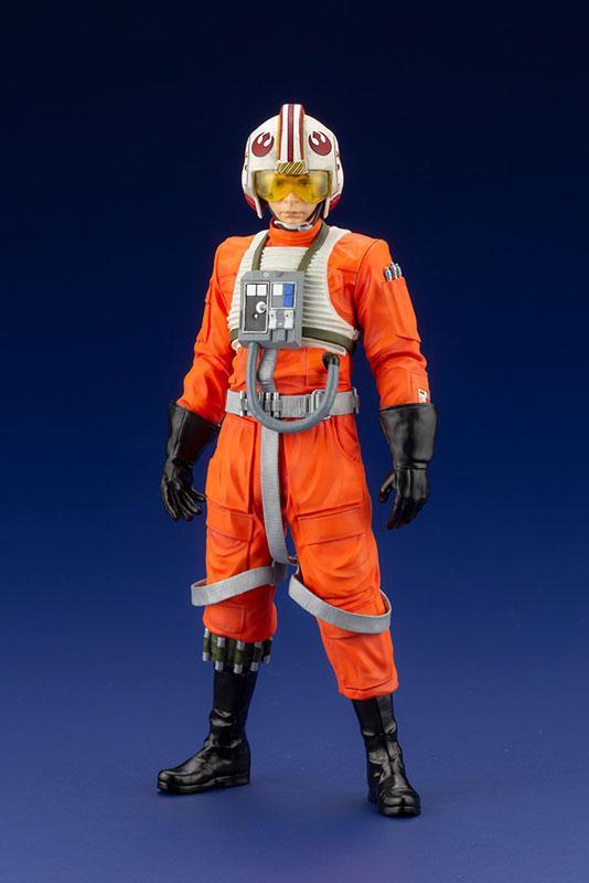 ARTFX+ Star Wars Luke Skywalker X-WING Pilot 1/10 Easy Assembly Kit 9