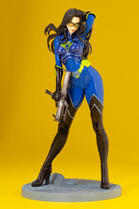 G.I. JOE Bishoujo Baroness 25th Anniversary Blue Limited Edition 1/7 Complete Figure