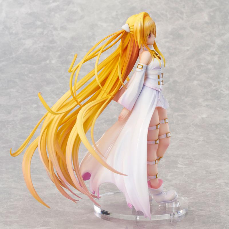 To Love-Ru Darkness Golden Darkness White Trans ver. Complete Figure 4