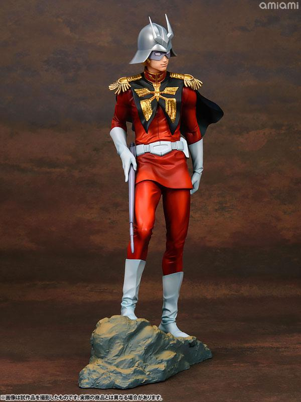 GGG (Gundam Guys Generation) Mobile Suit Gundam Char Aznable 1/8 Complete Figure 6