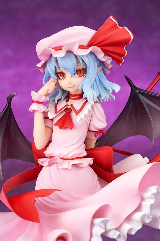"Touhou Project ""Eien ni Kurenai Wakaki Tsuki"" Remilia Scarlet Extra Color 1/8 Complete Figure product"