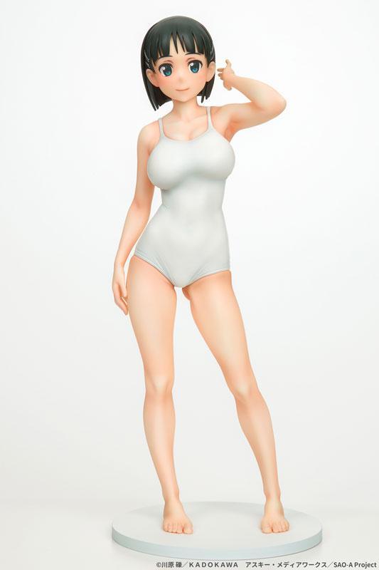 Sword Art Online Suguha Kirigaya White School Swimsuit ver. 1/7 Complete Figure
