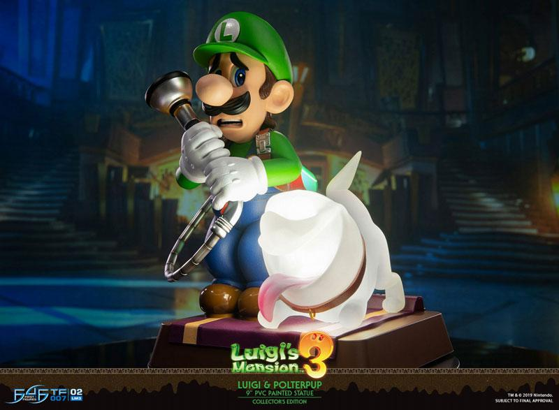 Luigi's Mansion 3/ Luigi 9 Inch PVC Statue Collector Edition 11