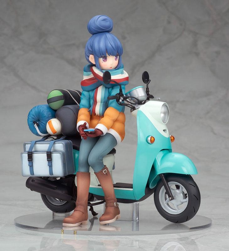 Yuru Camp Rin Shima with Scooter 1/10 Complete Figure 7