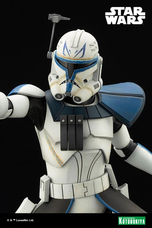ARTFX Star Wars: The Clone Wars Captain Rex Clone Wars Edition 1/7 Easy Assembly Kit