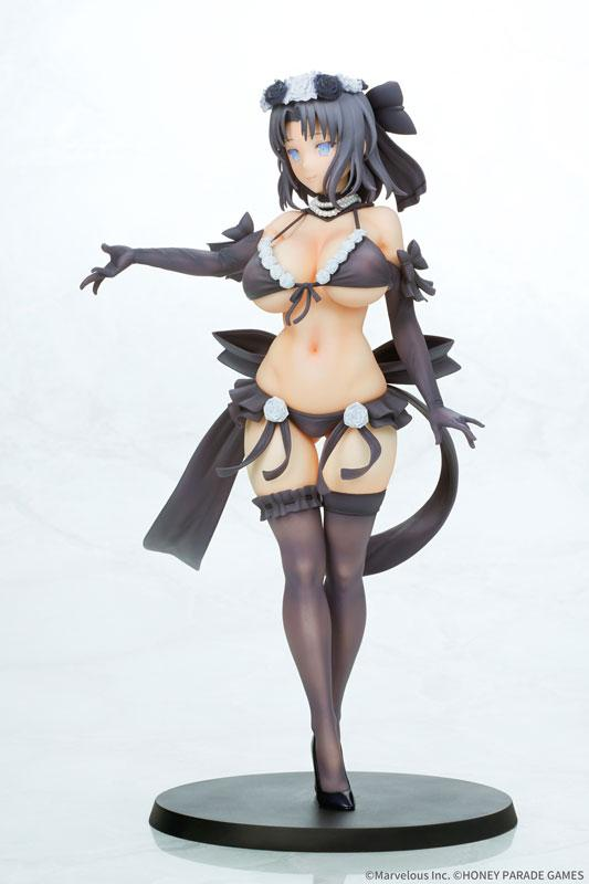 Senran Kagura Yumi Wedding 2018 Black ver. 1/7 Complete Figure