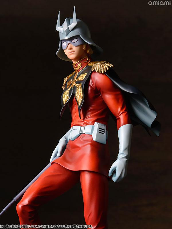 GGG (Gundam Guys Generation) Mobile Suit Gundam Char Aznable 1/8 Complete Figure 23