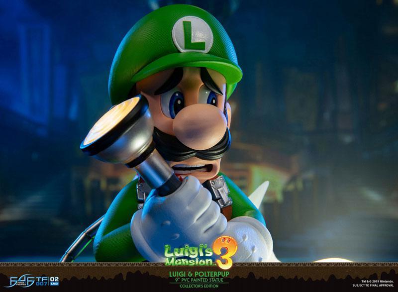 Luigi's Mansion 3/ Luigi 9 Inch PVC Statue Collector Edition 15