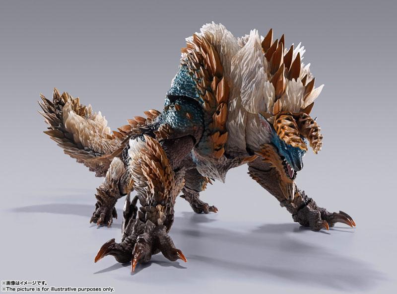 "S.H.MonsterArts Zinogre ""Monster Hunter World: Iceborne"""