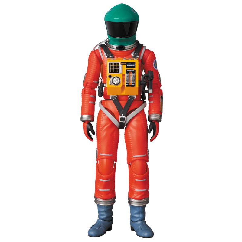 """MAFEX No.110 MAFEX SPACE SUIT GREEN HELMET & ORANGE SUIT Ver. """"2001: a space odyssey"""" product"""