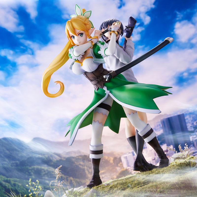 Sword Art Online Leafa & Suguha Kirigaya 2 Figures Set Complete Figures 0