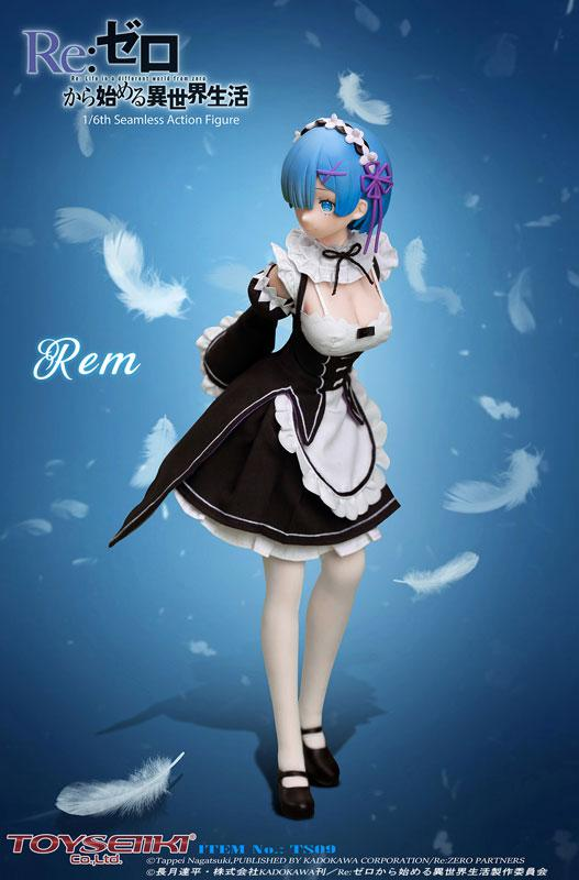 Re:ZERO -Starting Life in Another World- Rem 1/6 Seamless Action Figure 1