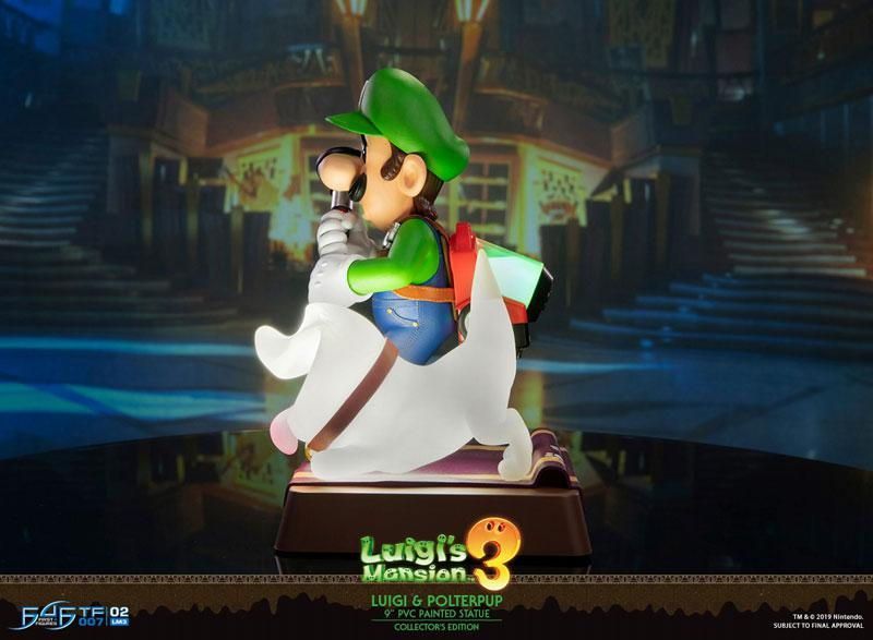 Luigi's Mansion 3/ Luigi 9 Inch PVC Statue Collector Edition 6