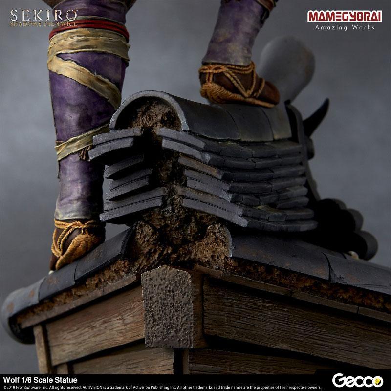 [Bonus] SEKIRO: SHADOWS DIE TWICE/ Wolf 1/6 Scale Statue 17