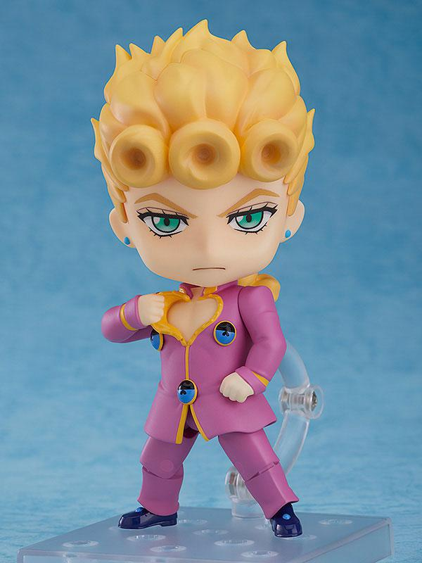 "Nendoroid TV Anime ""JoJo's Bizarre Adventure Golden Wind"" Giorno Giovanna product"