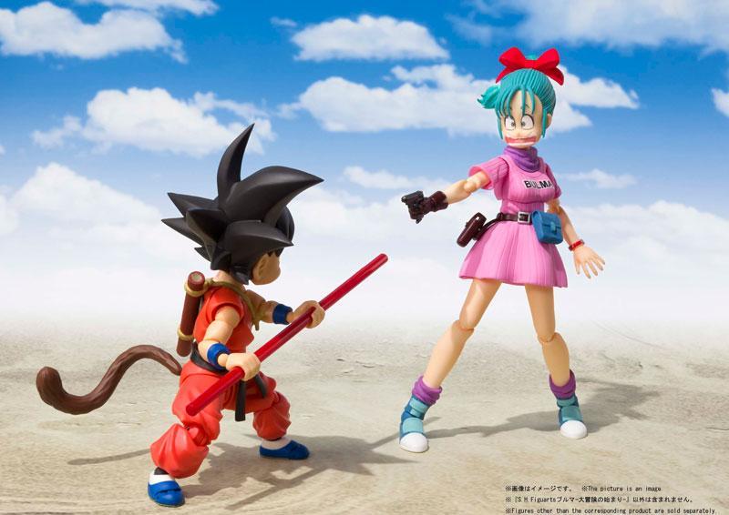 "S.H.Figuarts Bulma -Beginning of a Great Adventure- ""Dragon Ball"""