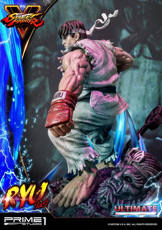Premium Master Line Street Fighter V Ryu Ultimate 1/4 Statue 20