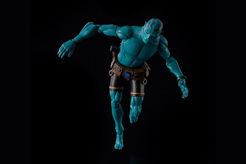 Hellboy Abe Sapien 1/12 Action Figure 5