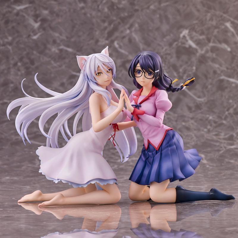 """""""Nekomonogatari"""" Tsubasa Hanekawa 2 Figures Set Complete Figure 4"""