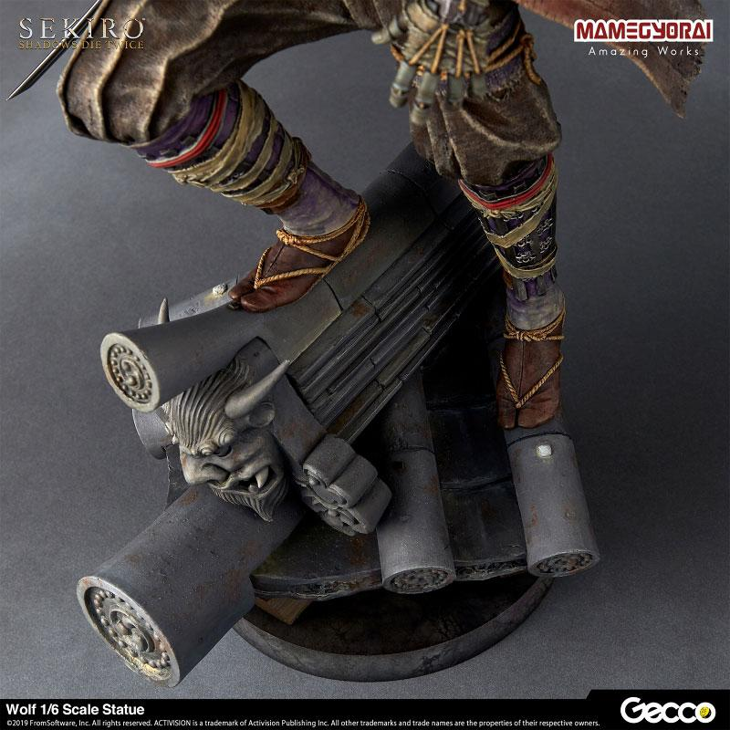 [Bonus] SEKIRO: SHADOWS DIE TWICE/ Wolf 1/6 Scale Statue 15