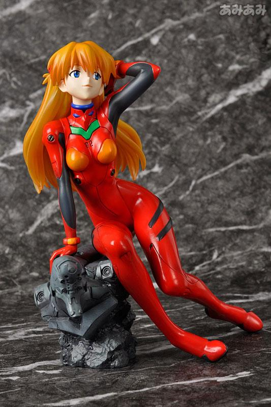 Rebuild of Evangelion Asuka Langley Shikinami -Plug Suit ver.-:RE 1/6 Complete Figure