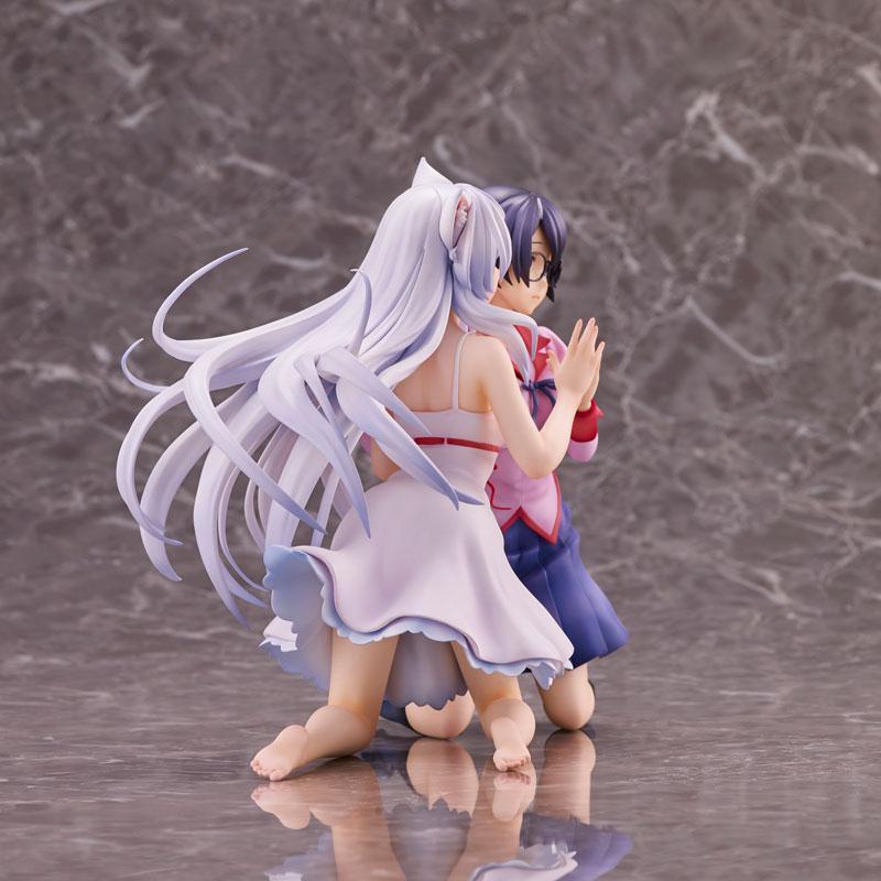 """""""Nekomonogatari"""" Tsubasa Hanekawa 2 Figures Set Complete Figure"""