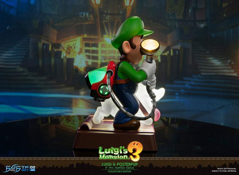 Luigi's Mansion 3/ Luigi 9 Inch PVC Statue Collector Edition 2
