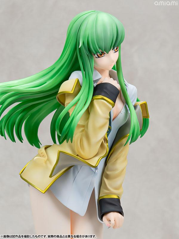 "KDcolle ""Code Geass: Lelouch of the Rebellion"" C.C. Ashford Academy Uniform Ver. 1/7 Complete Figure 9"